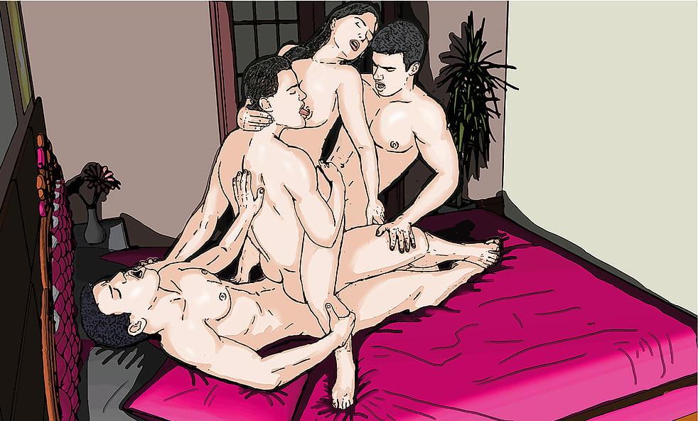 Эро Комиксы Бисексуалы 3d