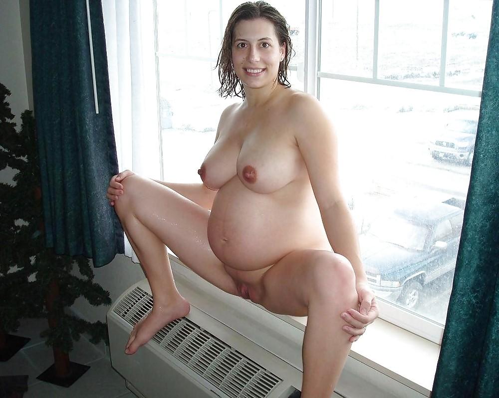 Голая Беременная Жена