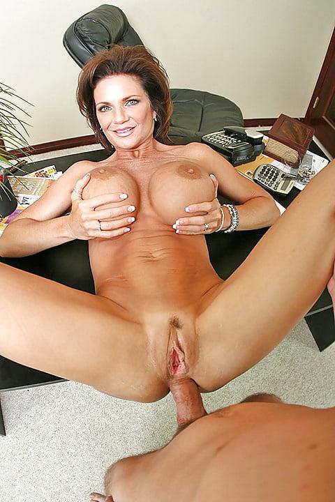 Milf lesbian boss