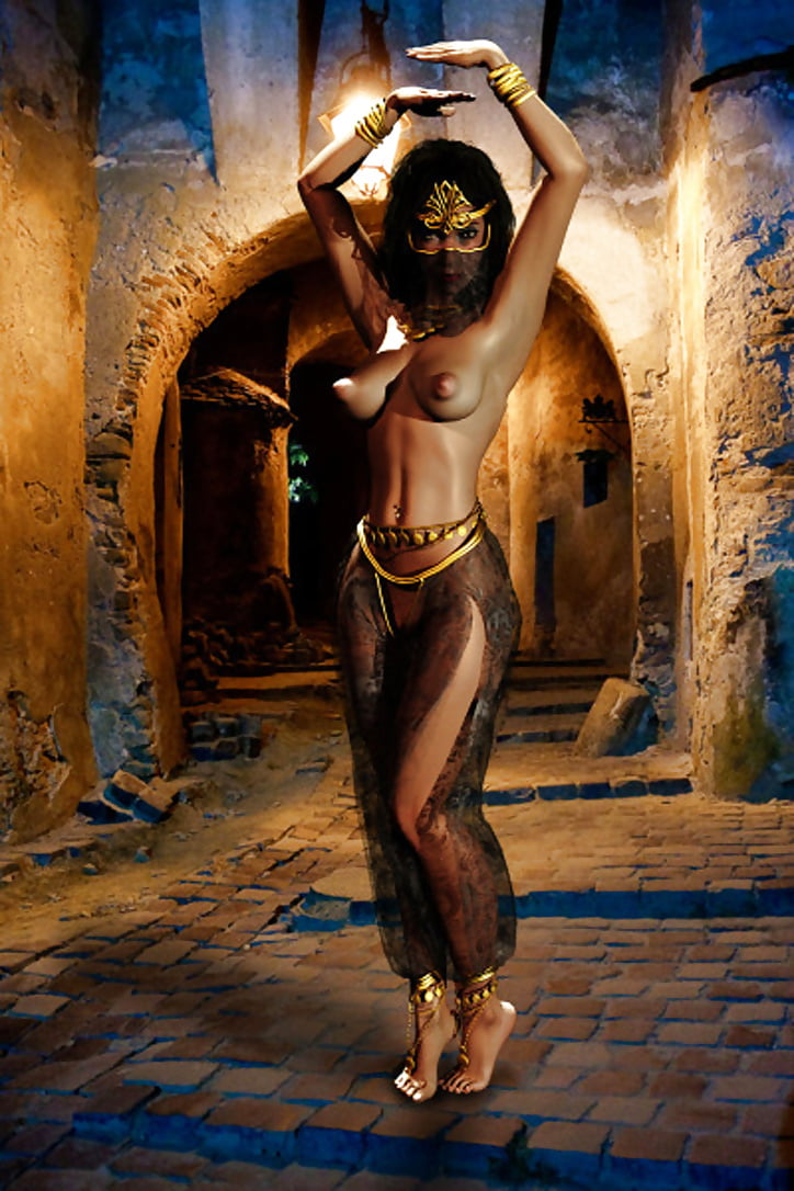 Обнаженный Танец Живота Индусов