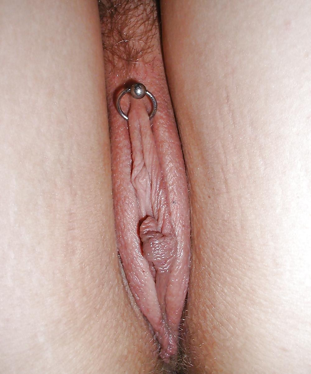BDSM Pierced Pussy Lips