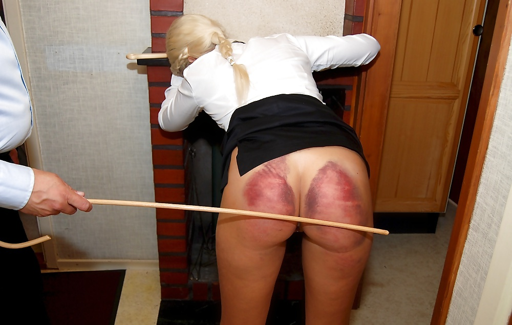 Wife spanked abused