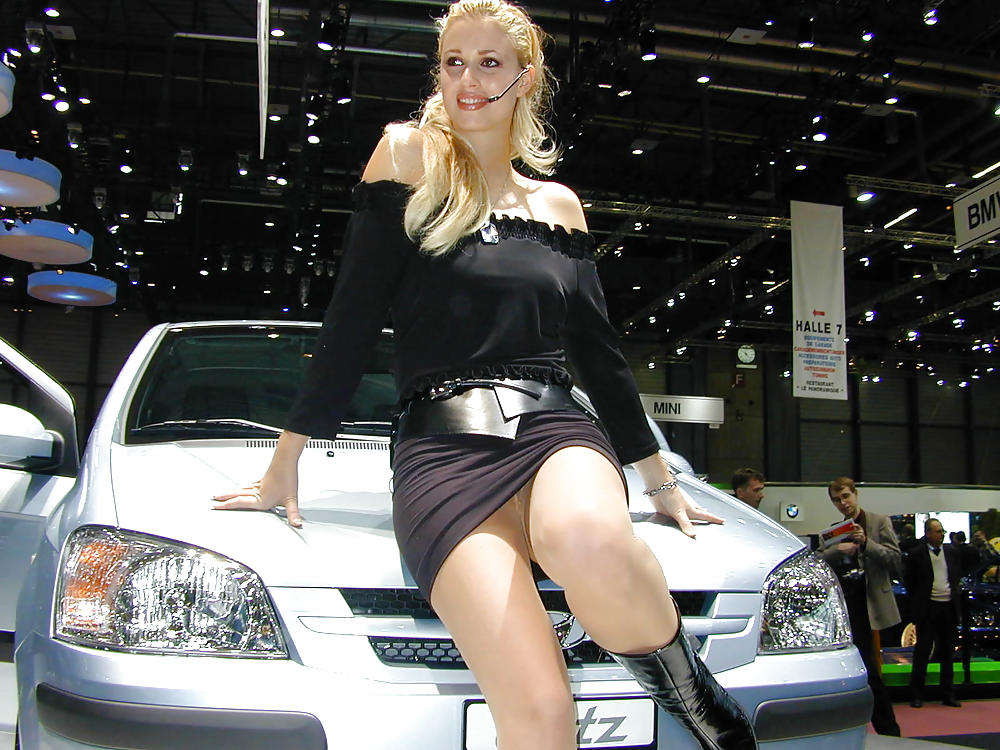 At the auto show