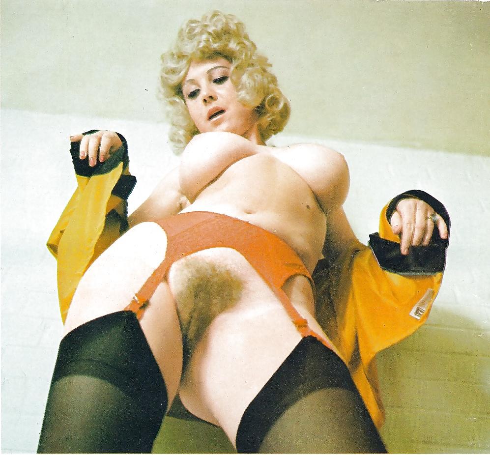 Vintage Hairy Pussy Mature Woman On Rare Retro Photos