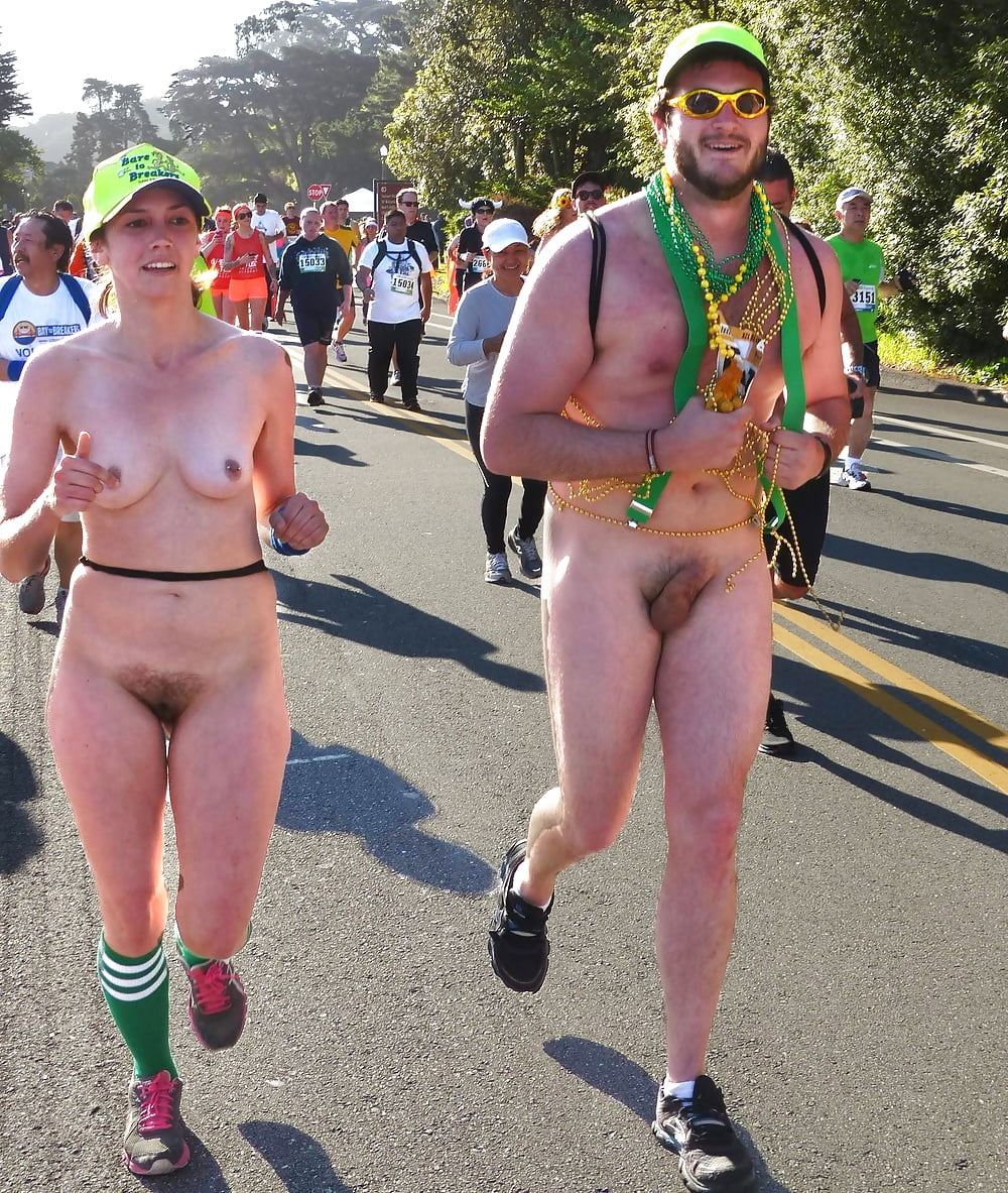 Bay to breakers naked women