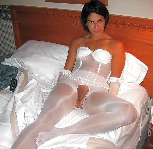 nude pantyhose Wedding