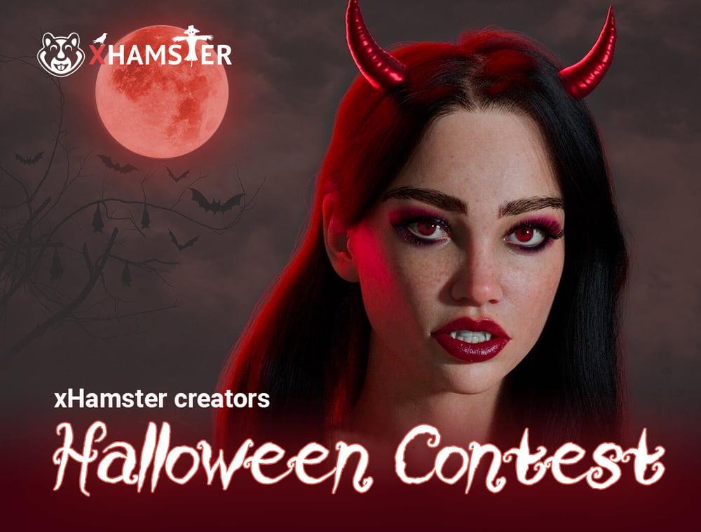 xHamster Creators Halloween Contest!