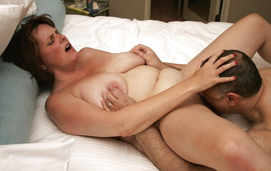 Fun milf creampie and blowjob