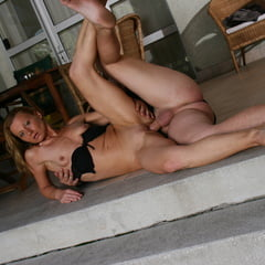 Erotic  fit slim ginger milf public sex on holiday trip with strange          porn pict XXX album thumbnail