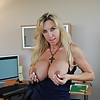 Wifey loves to pinch her nipples