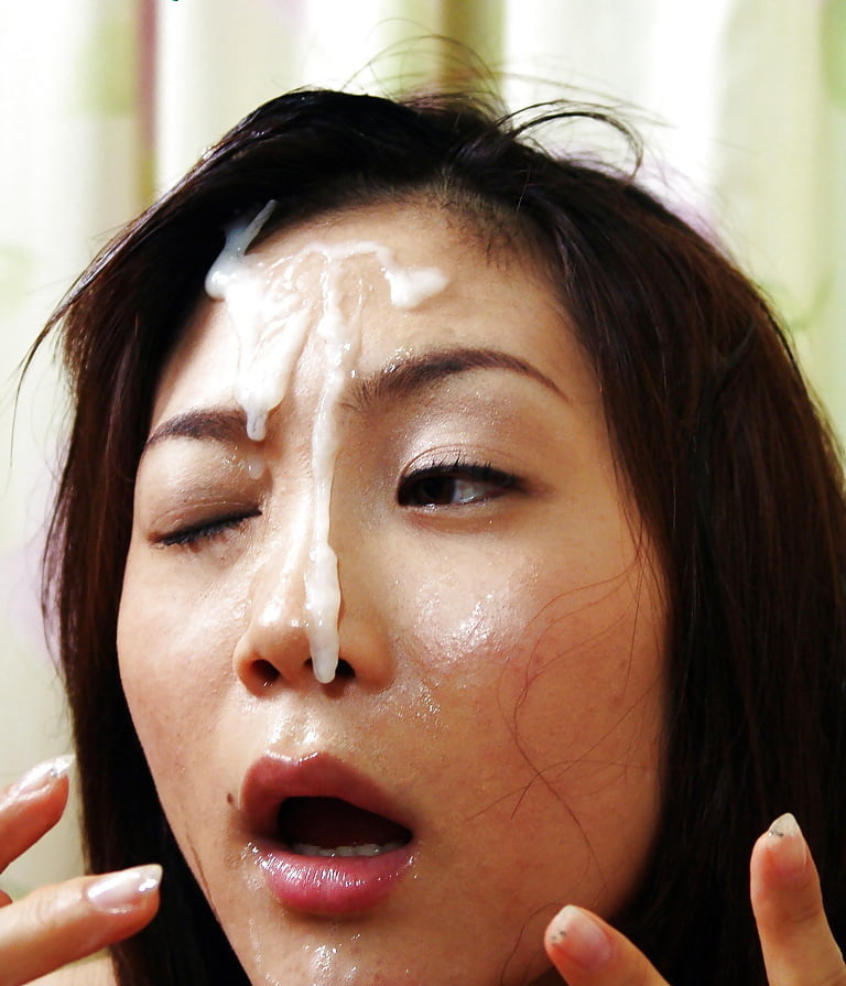 Asian cum on face girl loosing