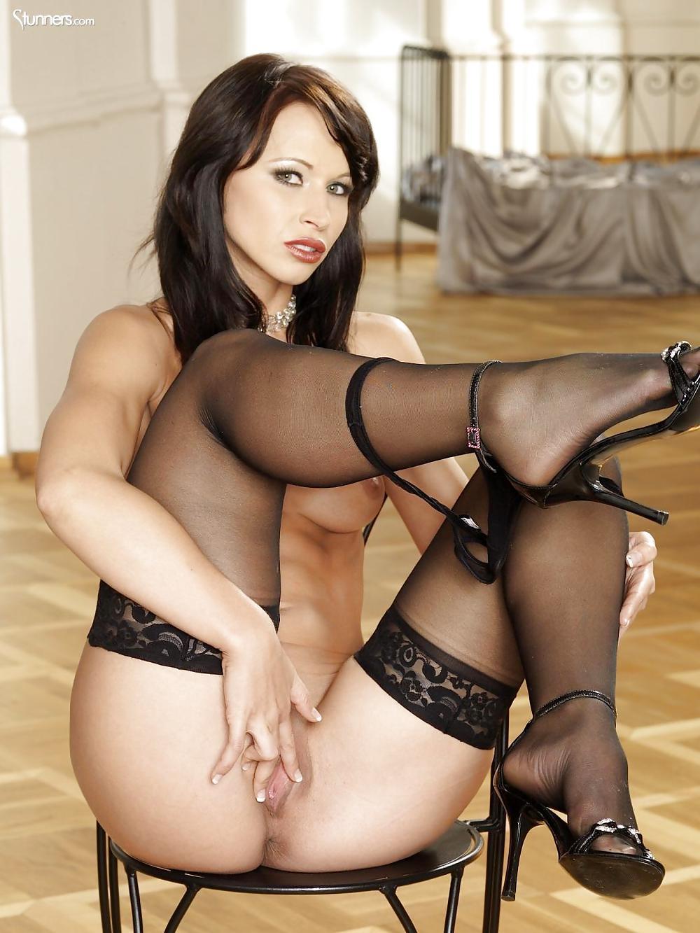 Красивые россиянки в порно с черными #4
