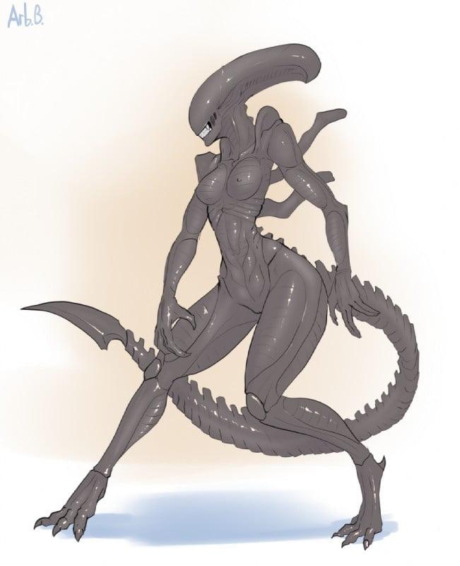 Cartoon porn alien-6630