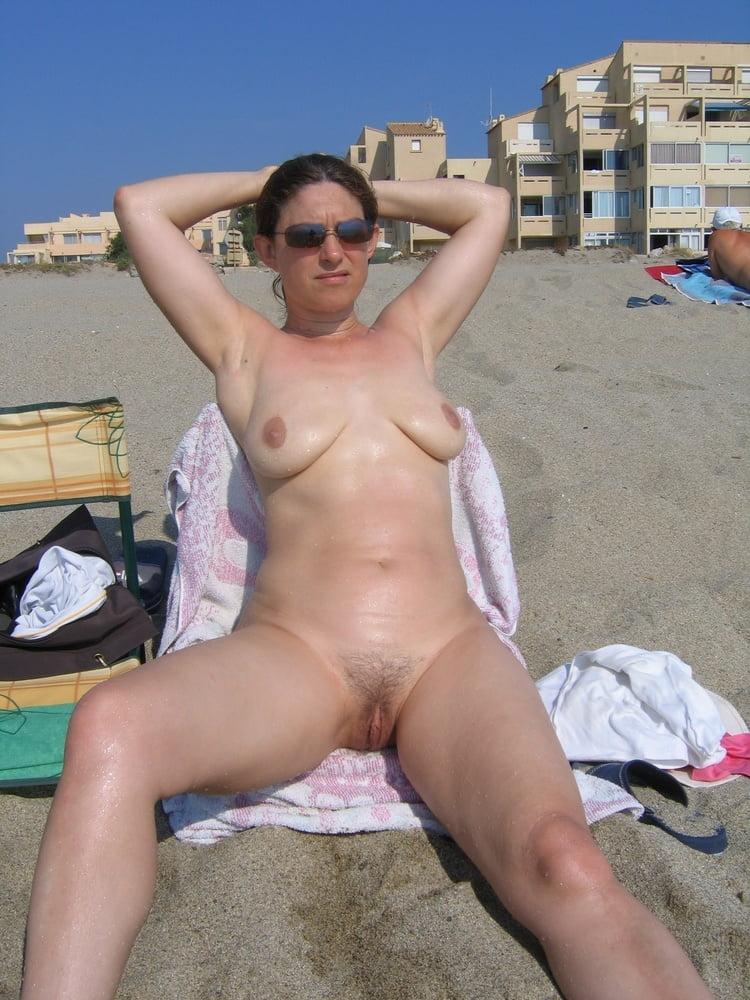public in Mature nude