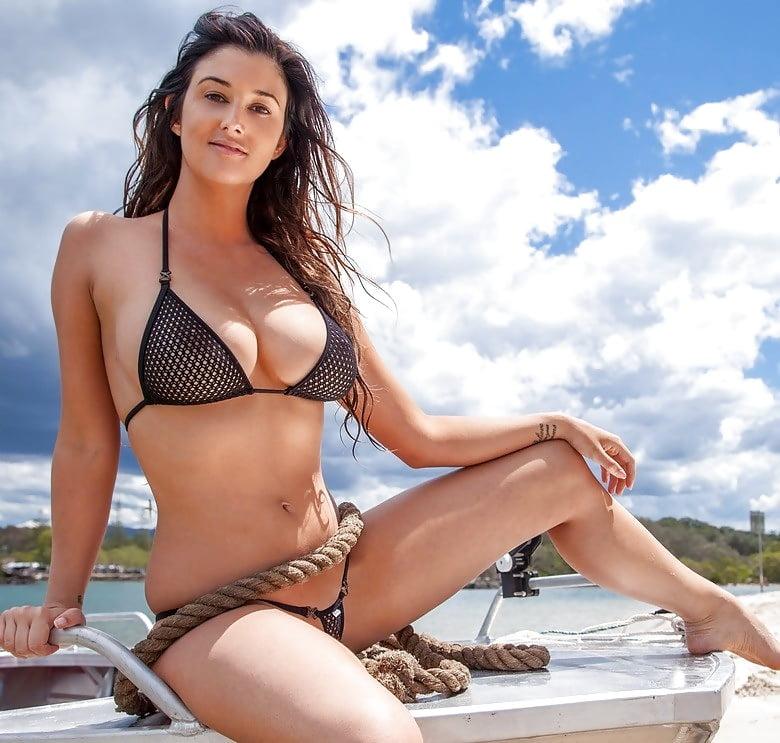 Satin bikini sex — photo 7