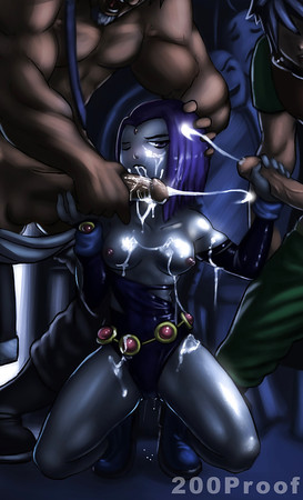 Raven Teen Titans Cartoon