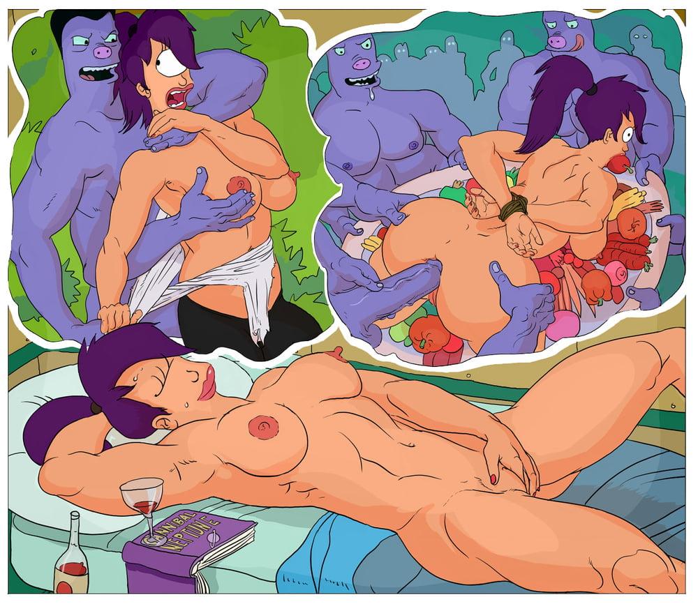 Futurama Xxx Comic Sexo Espacial