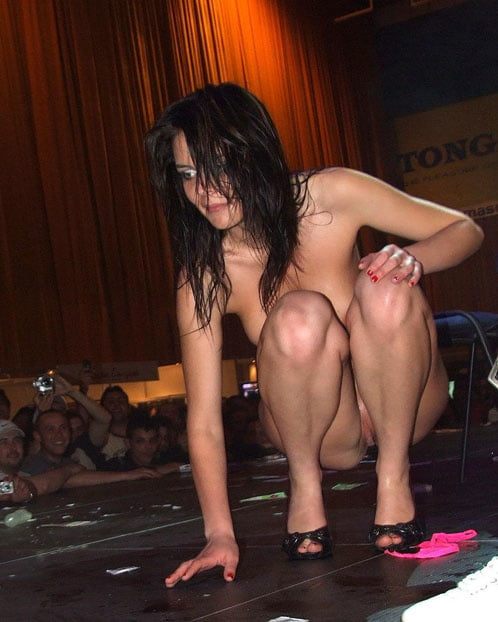 Strip Dance, Stripping Naked In Public, Amateurs Strips On Stage