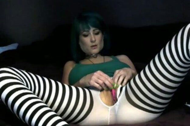 Mary C.- Fuck God Satanic Bitch LA, CA - 44 Pics