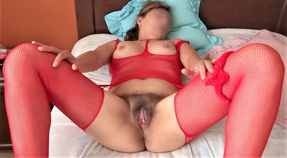 My mature wife, watch her videos too - 50 Pics