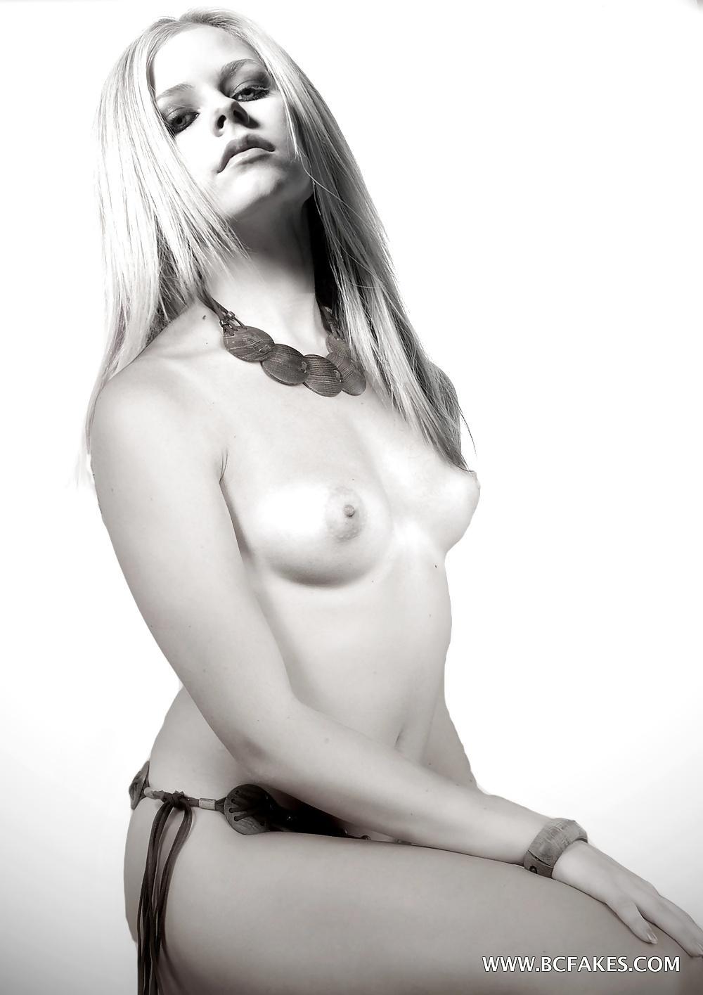 Avril lavigne nude for magazine