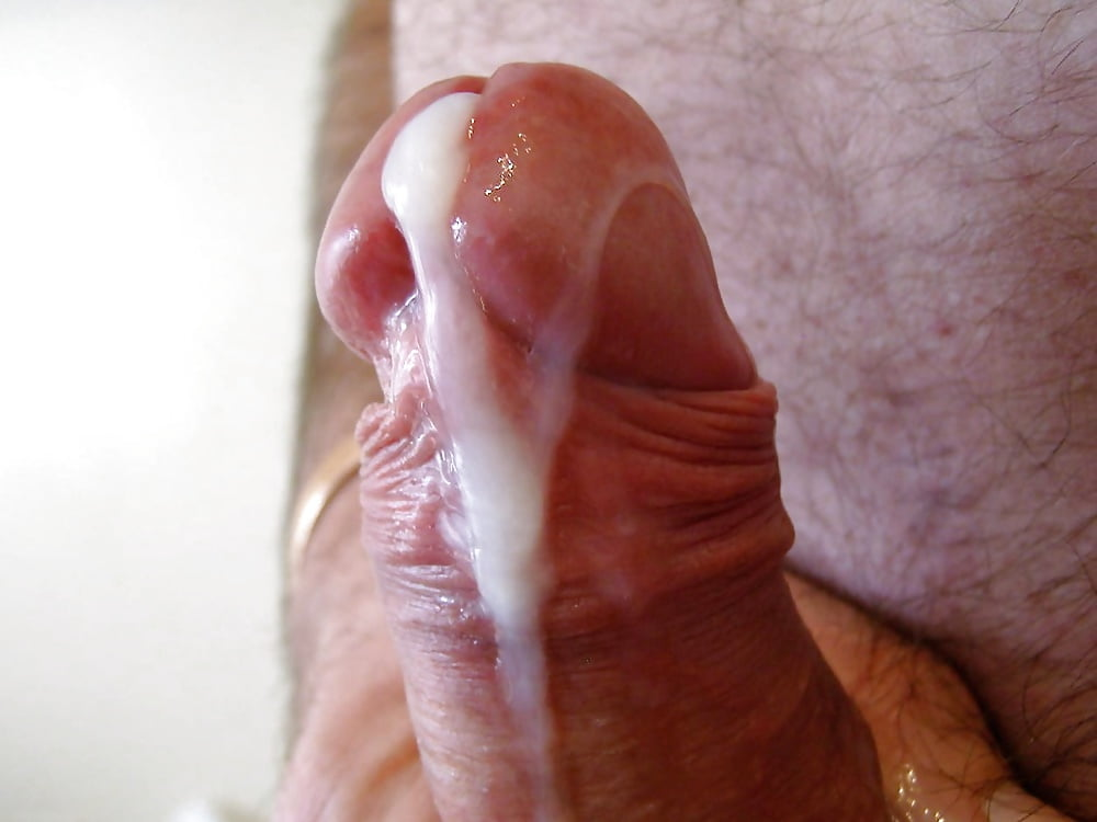 Cumming on a cock