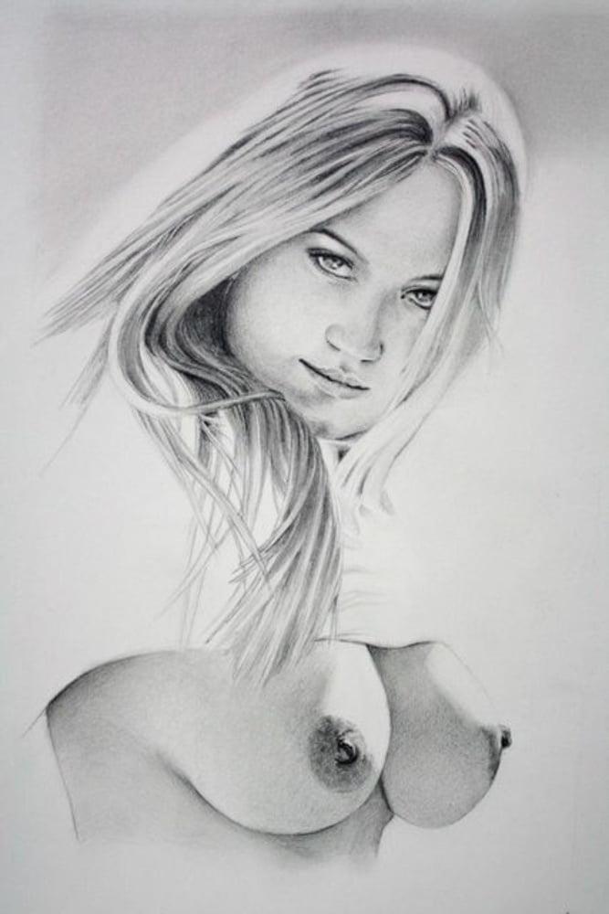 Drawings of girls nude get