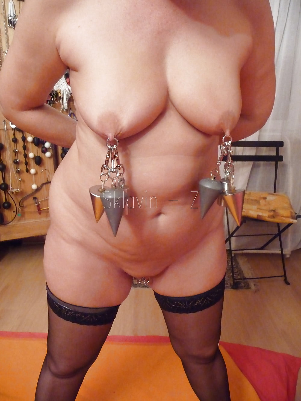 Nipples Torture With Weights - 5 Pics - Xhamstercom-6151