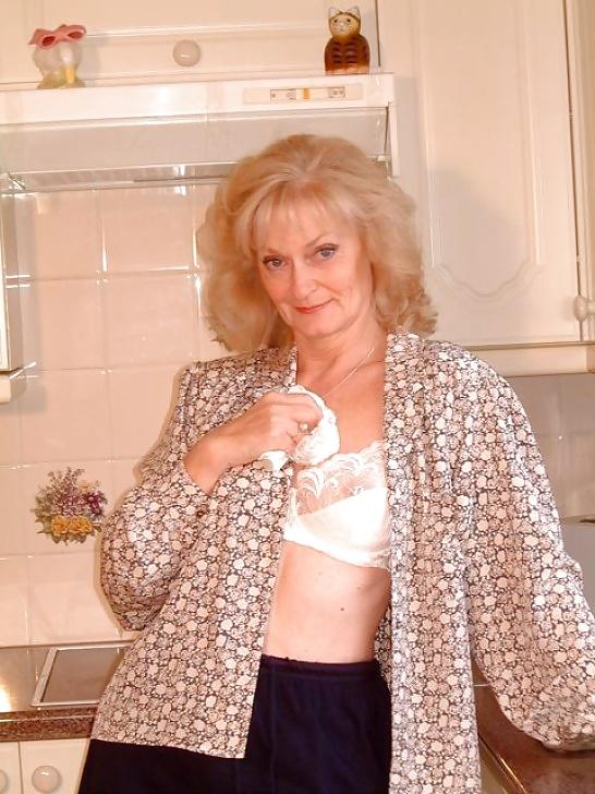 Older mature lingerie