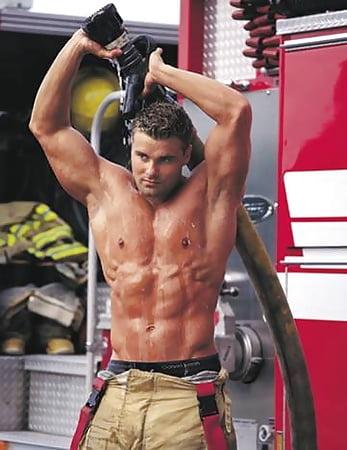 Celebrity Naked Firefighter Men Photos