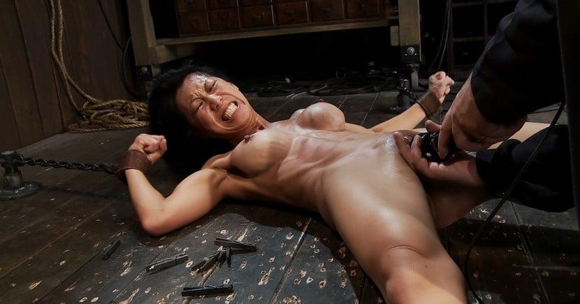 Naked asian girl torture