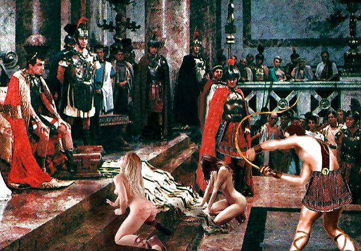 своим сцены порки рабынь видео