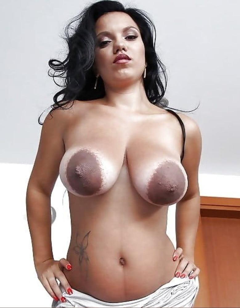 Biggest black nipples