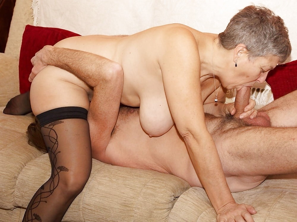 Kinky nude senior couples