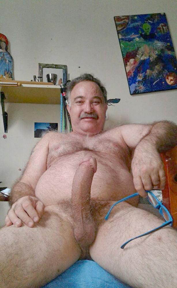 Hot old men naked big hairy dicks 9