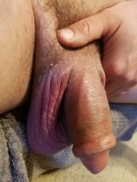See and Save As my big swollen cock and huge balls no erection porn pict -  4crot.com