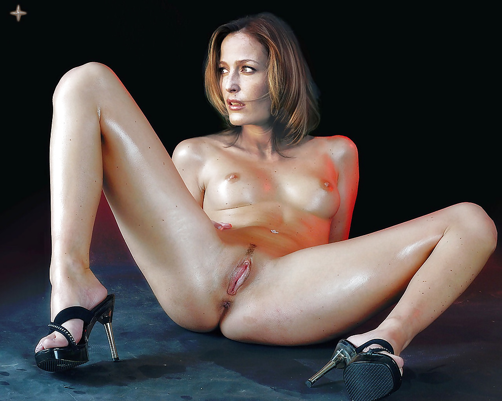 Pussy nude gillian anderson 15
