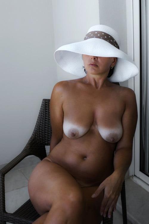Mature nude tan lines-9918