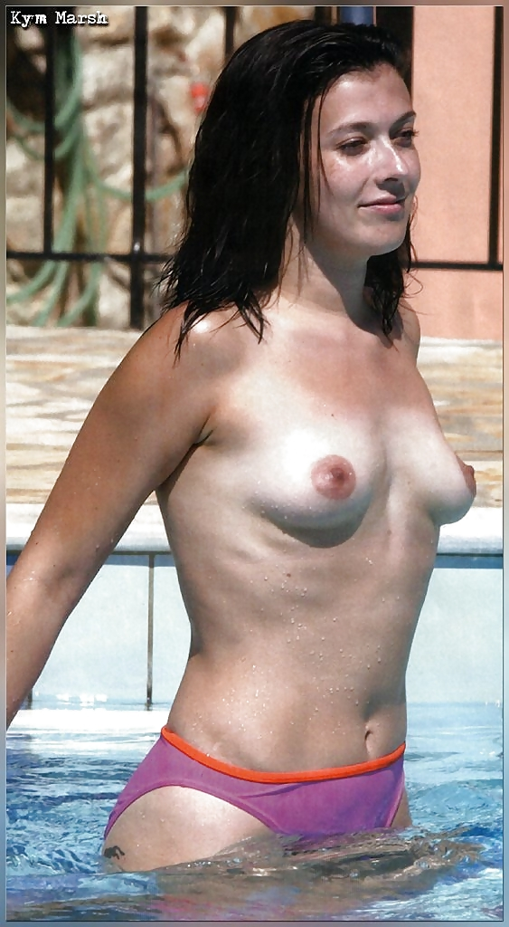 topless Kym marsh