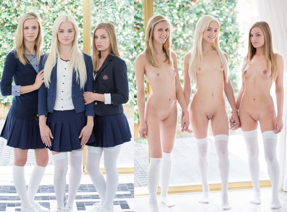 Teenagers naked in school — 5