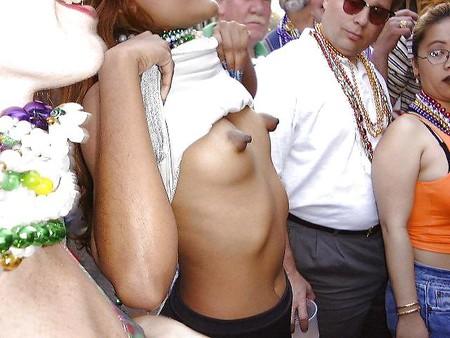 Strange shaped tits