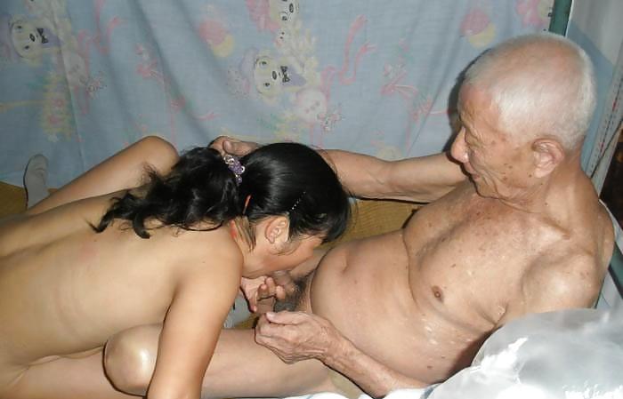 Grandpa fuck young girl