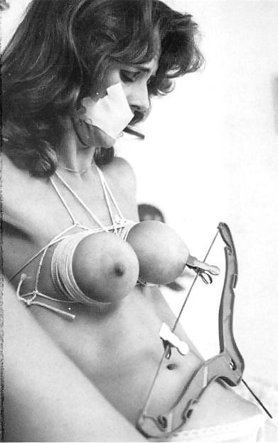 Watch vintage breast bondage