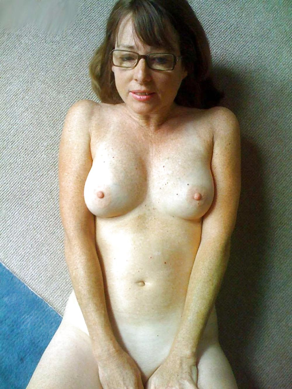 Glasses nude naked wife — photo 6