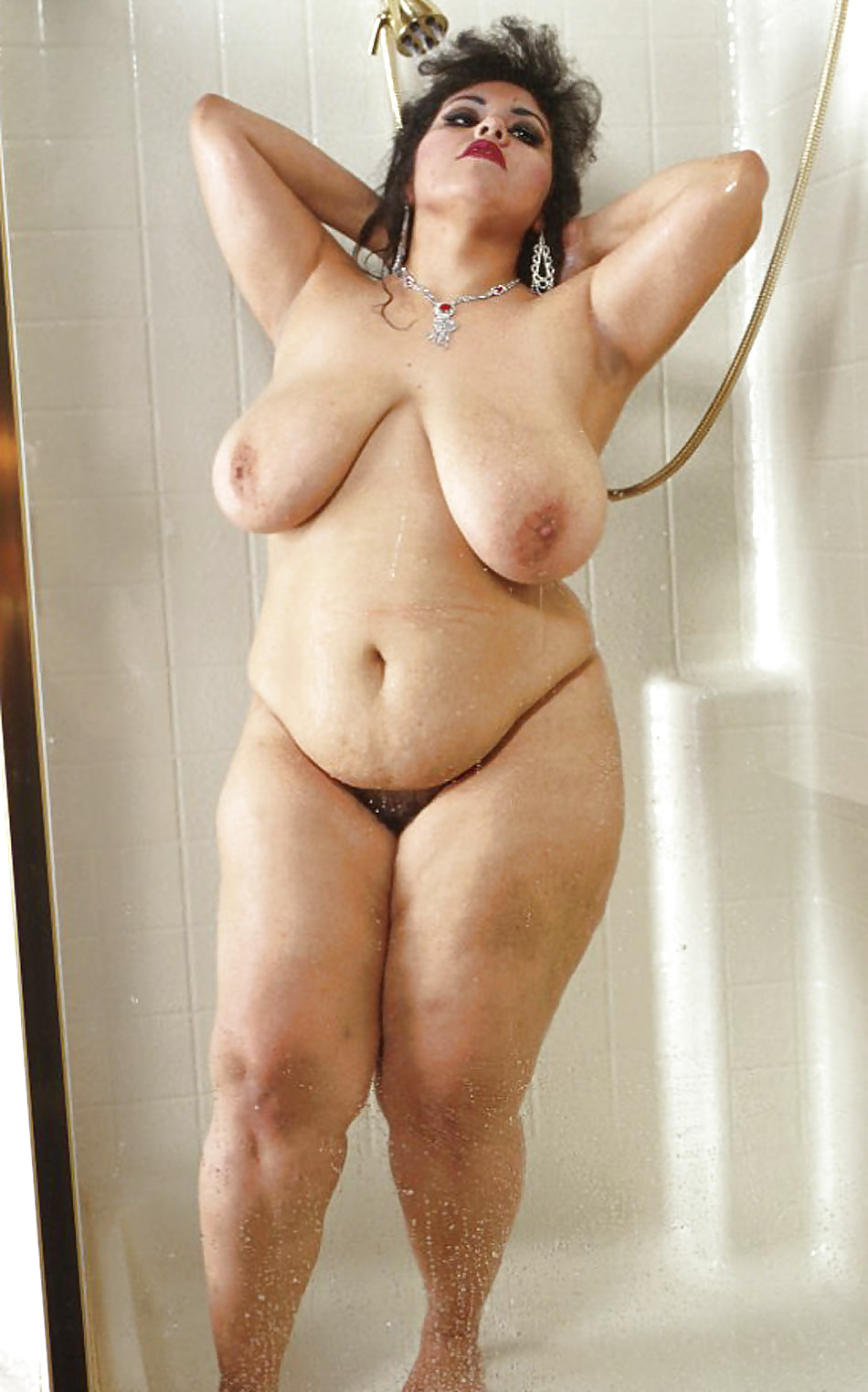 Beautiful nude fat women