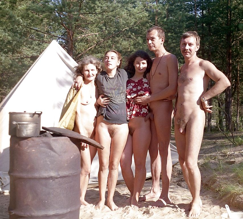 Cfnm Camping