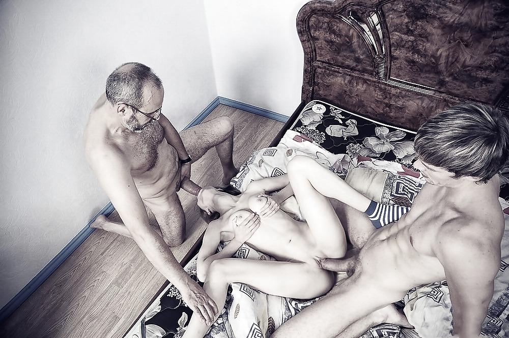 девушка и папа порно