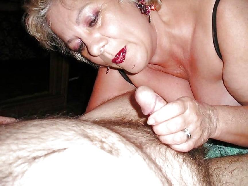 Older lady huge cock