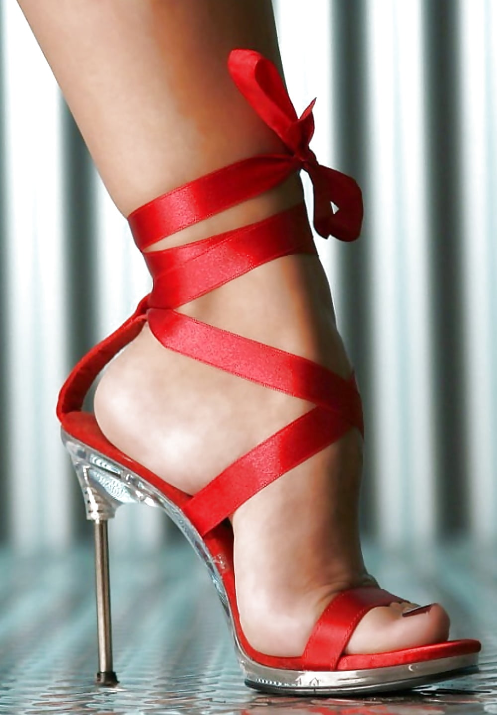 Sexy Ladies Ankle Strap High Heel Shoe