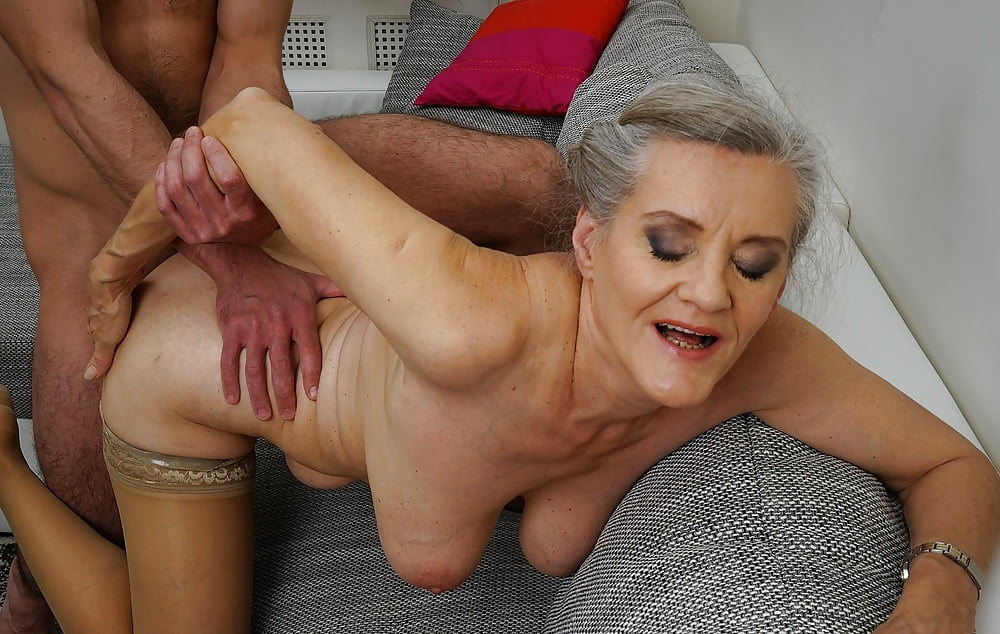 Old ladies getting fucked